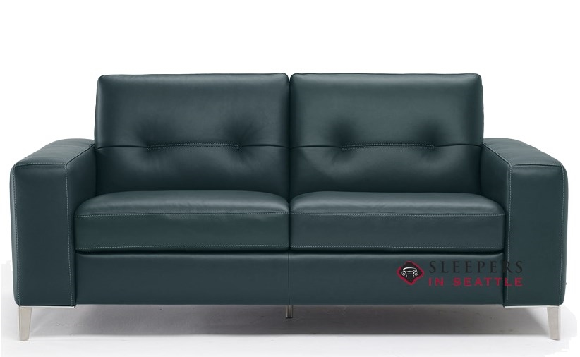 Quick-Ship Po (B883) Full Leather Sofa by Natuzzi | Fast Shipping Po (B883)  Full Sofa Bed | SleepersInSeattle.com
