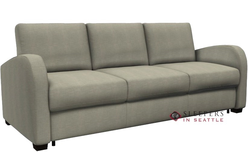 Palliser My Comfort Daydream 3 Cushion Sleeper Sofa In Key Largo Pumice ( Queen)
