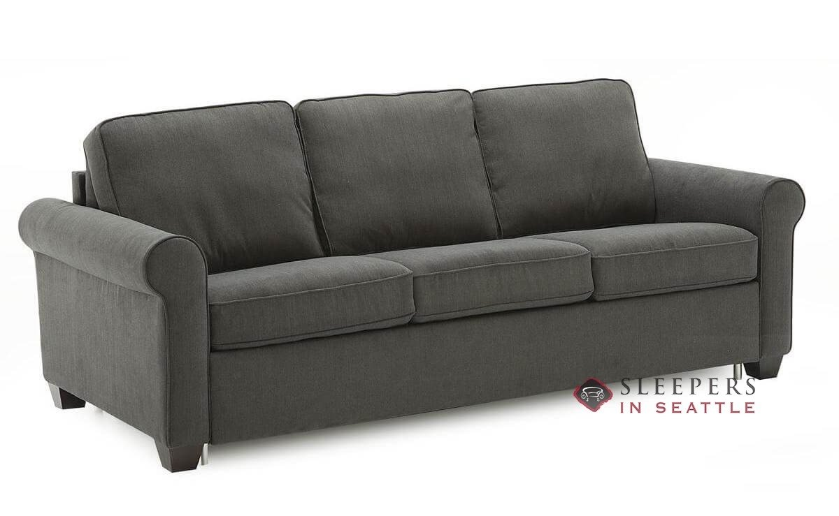 Delicieux Palliser Swinden CloudZ Queen Sleeper Sofa (Angled)