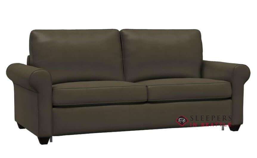 Palliser Swinden Cloudz Full Top Grain Leather Sleeper Sofa
