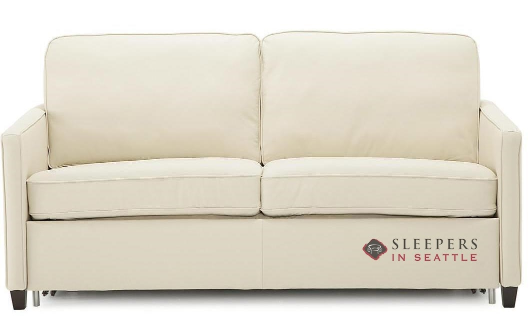 Palliser California Cloudz Full Top Grain Leather Sleeper Sofa