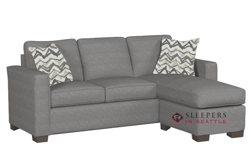 Quick-Ship 702 Chaise Sectional Fabric Sofa by Stanton | Fast Shipping 702  Chaise Sectional Sofa Bed | SleepersInSeattle.com