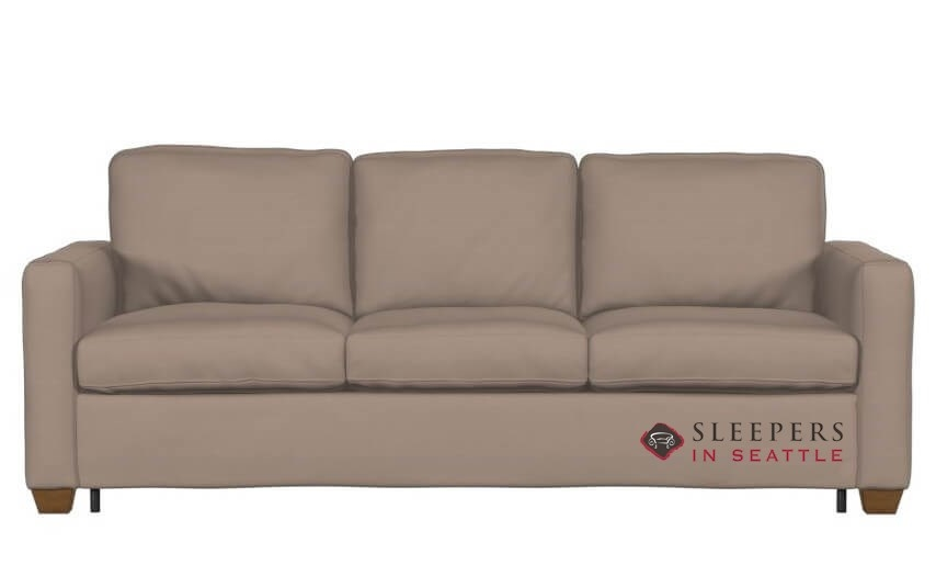 Palliser Kildonan Cloudz Queen Top Grain Leather Sleeper Sofa