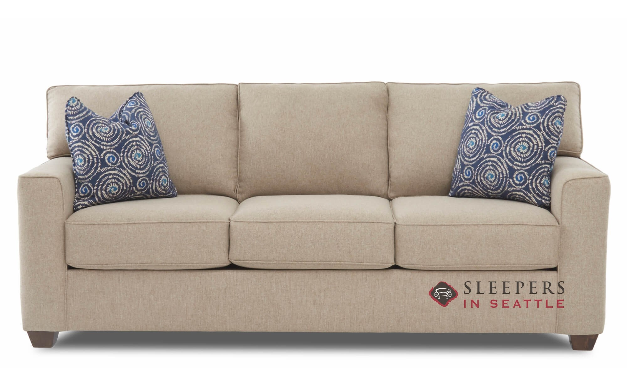 Newbury By Savvy Queen Fabric Sofa