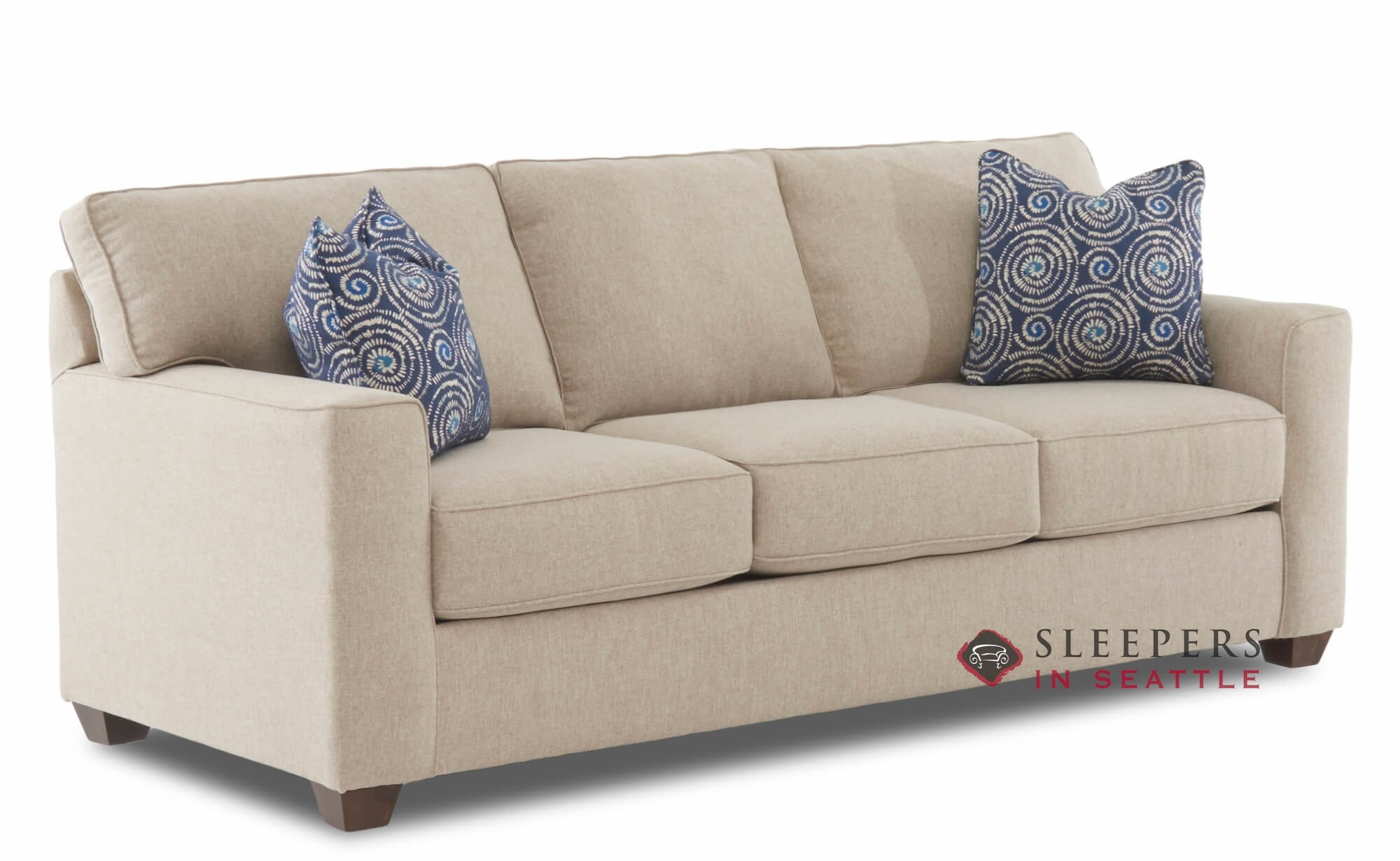 Savvy Newbury Queen Sleeper Sofa Sideview