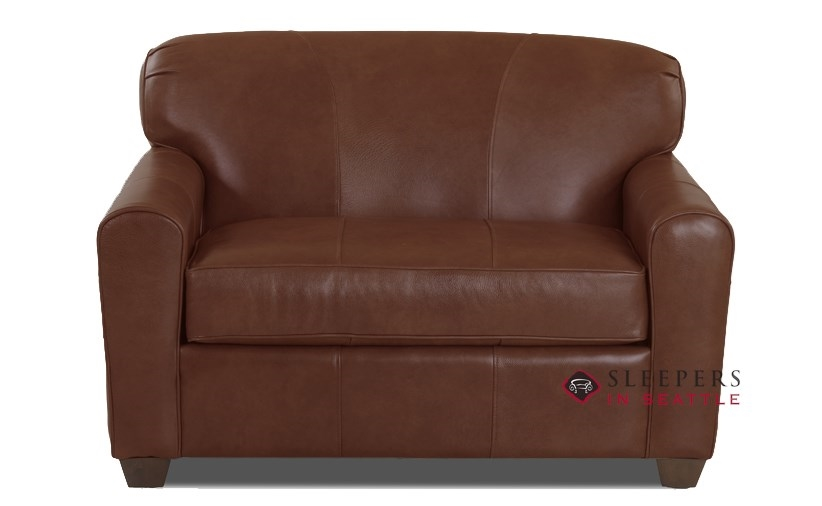 Quick Ship Zurich Chair Leather Sofa By