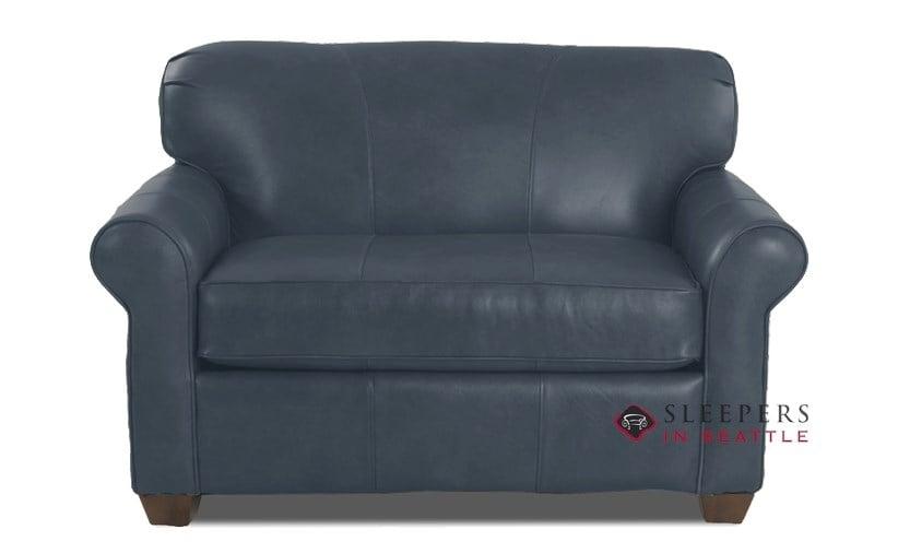 Quick Ship Calgary Chair Leather Sofa