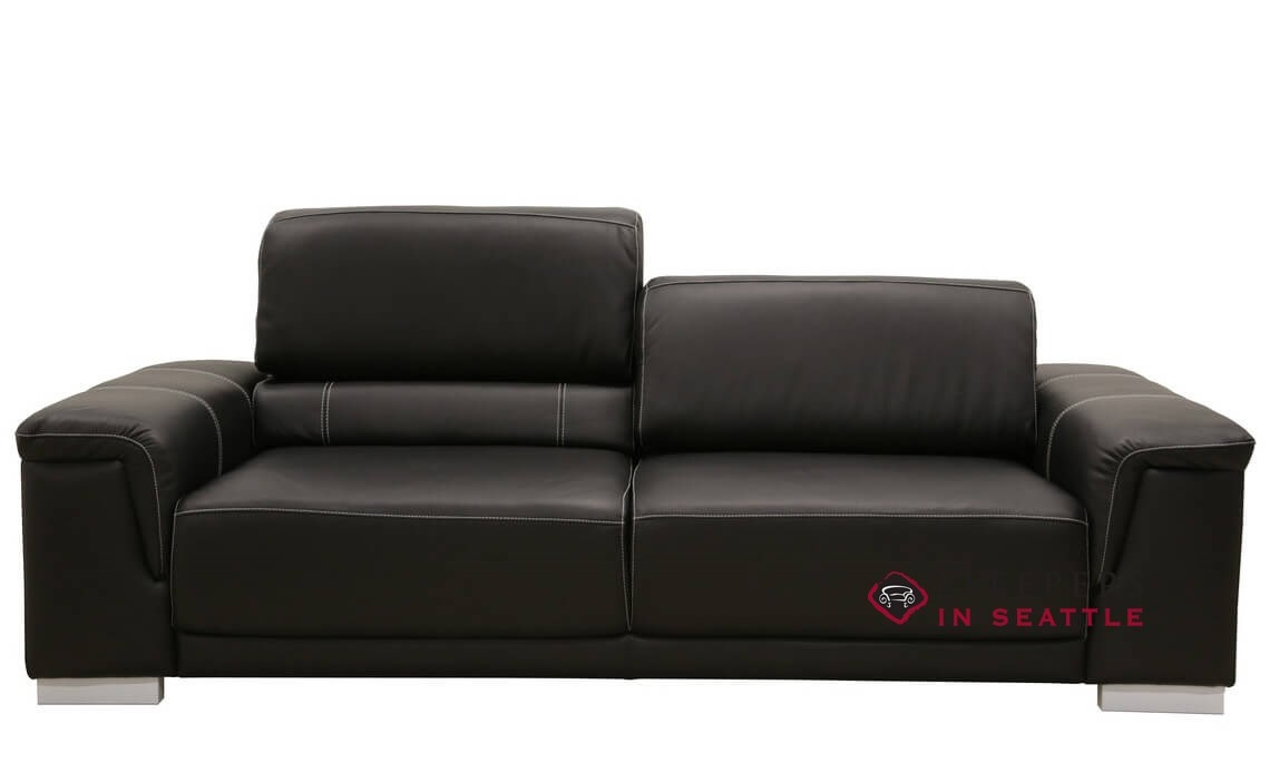 - Customize And Personalize Copenhagen By Luonto Queen Leather Sofa