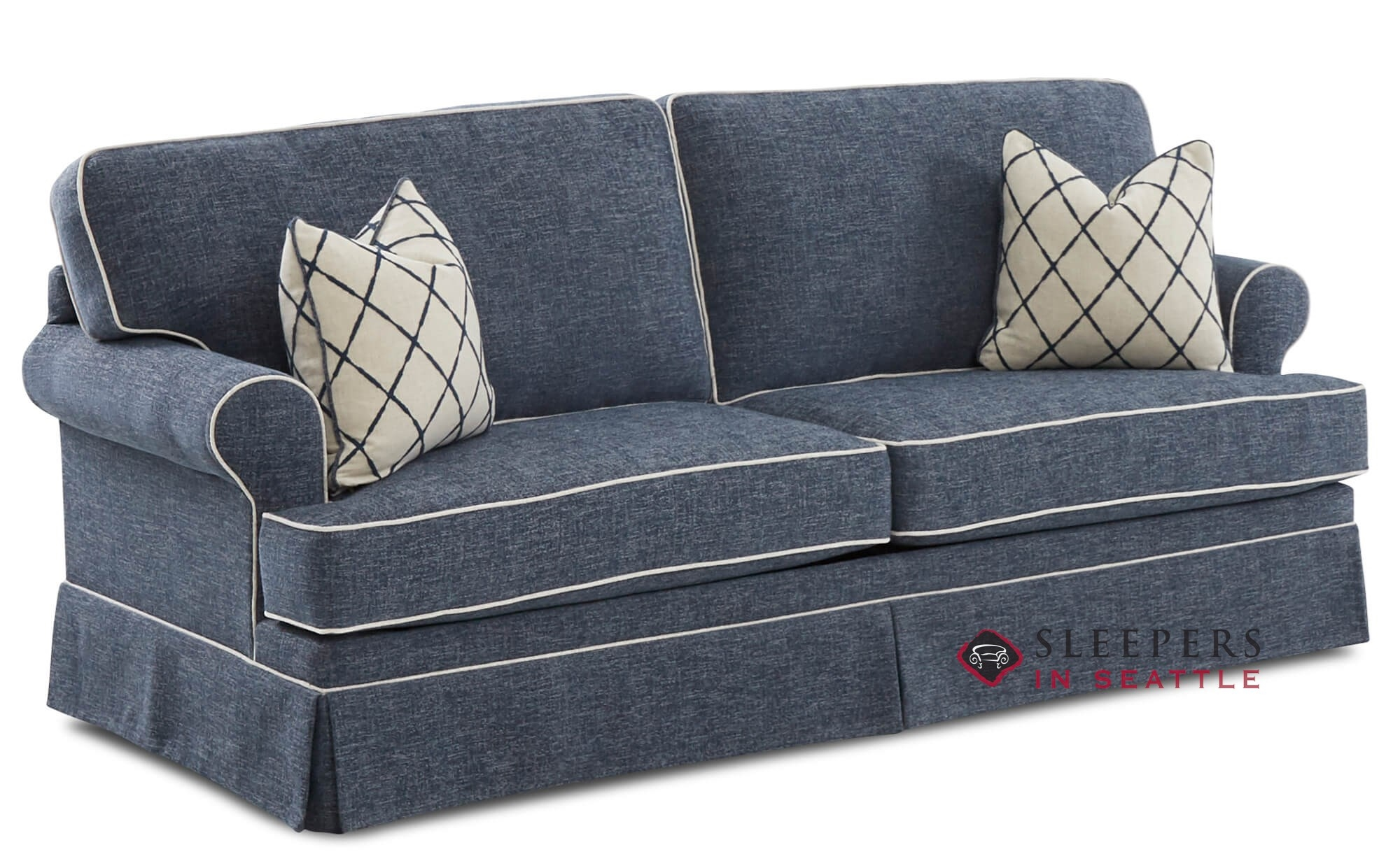 Customize And Personalize Cranston Queen Fabric Sofa By