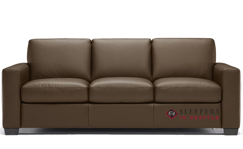 Rubicon B534 Leather Queen Sleeper Sofa
