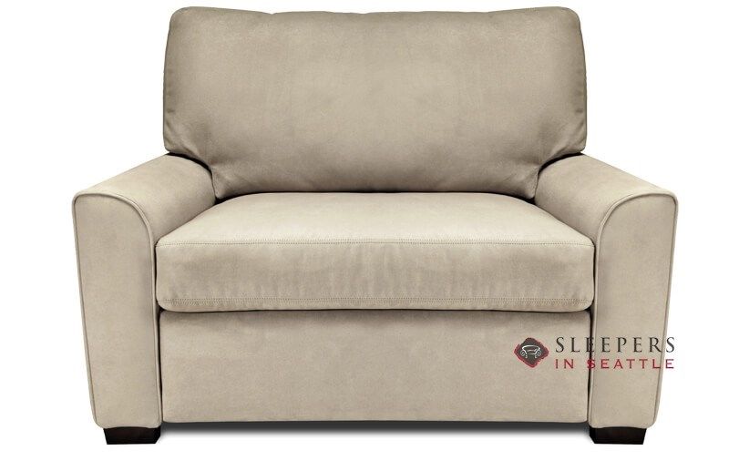 Customize and Personalize Klein Twin Leather Sofa by American ...