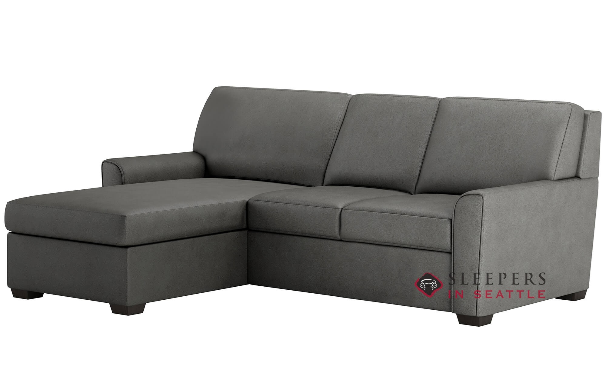 Awe Inspiring American Leather Klein Queen Plus With Chaise Sectional Comfort Sleeper Generation Viii Cjindustries Chair Design For Home Cjindustriesco