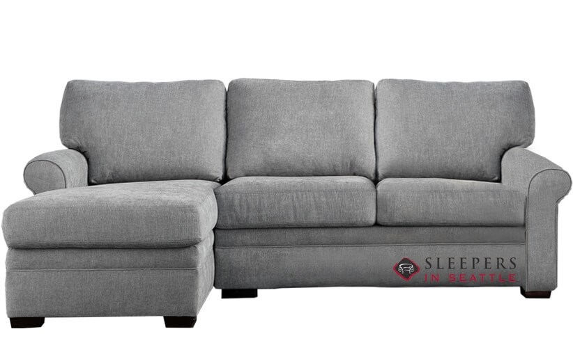 Customize and Personalize Gaines Queen Leather Sofa by American ...