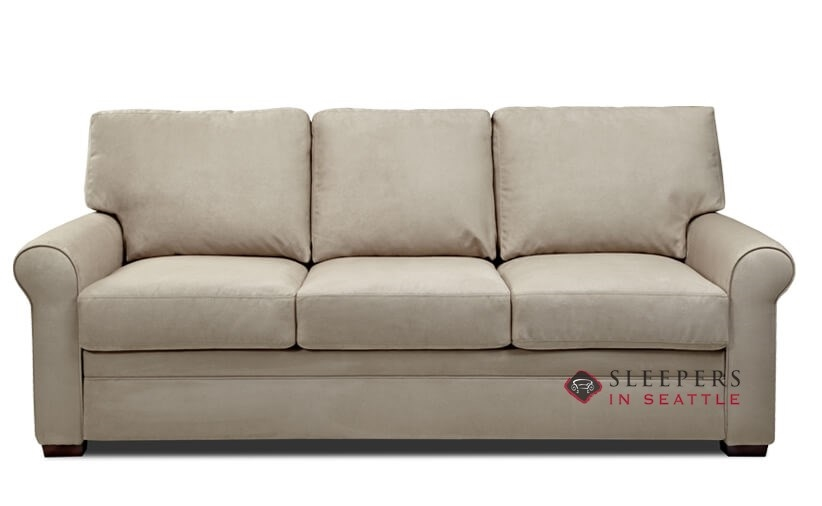 Customize and Personalize Gaines Queen Fabric Sofa by American ...