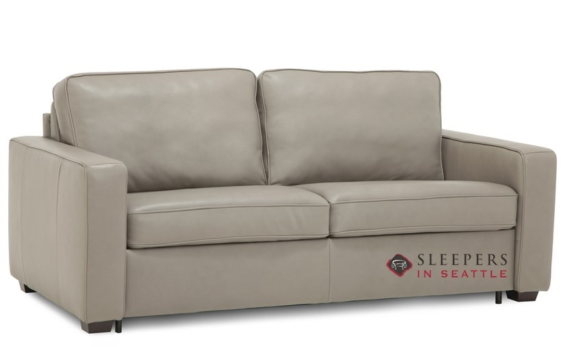 Palliser Kildonan CloudZ Full Top-Grain Leather Sleeper Sofa