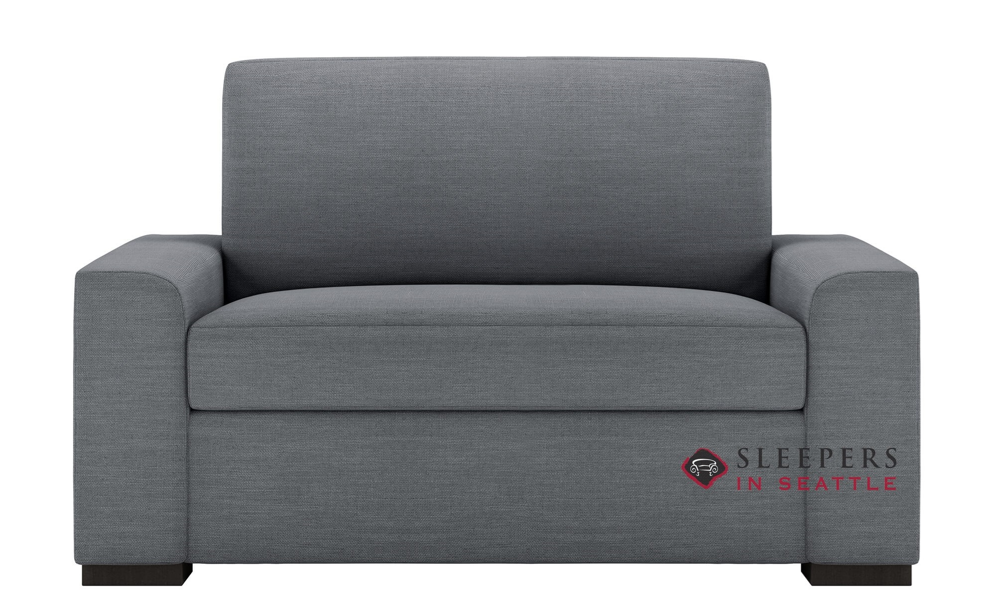 - Customize And Personalize Olson Twin Leather Sofa By American
