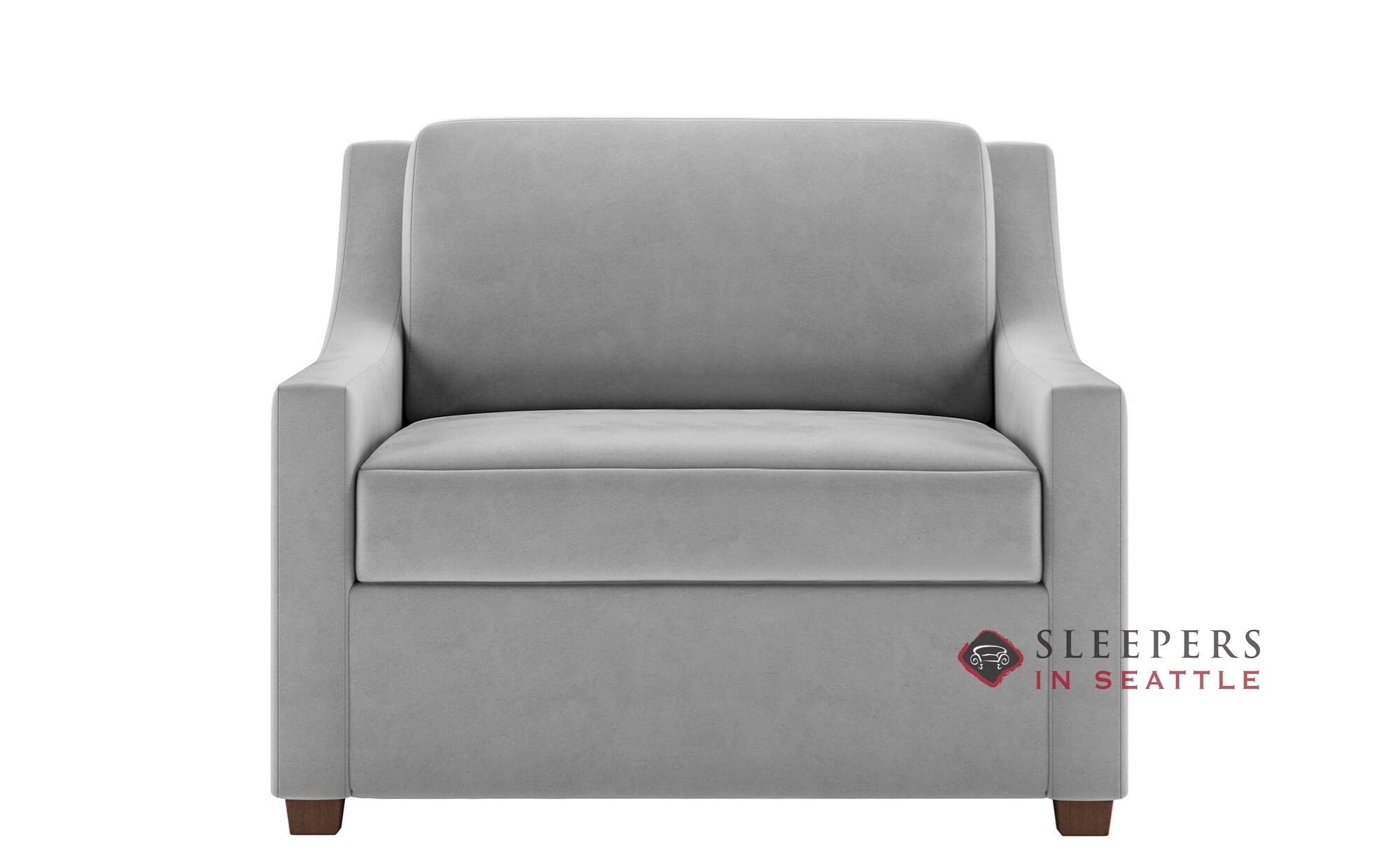 - Customize And Personalize Perry Twin Fabric Sofa By American