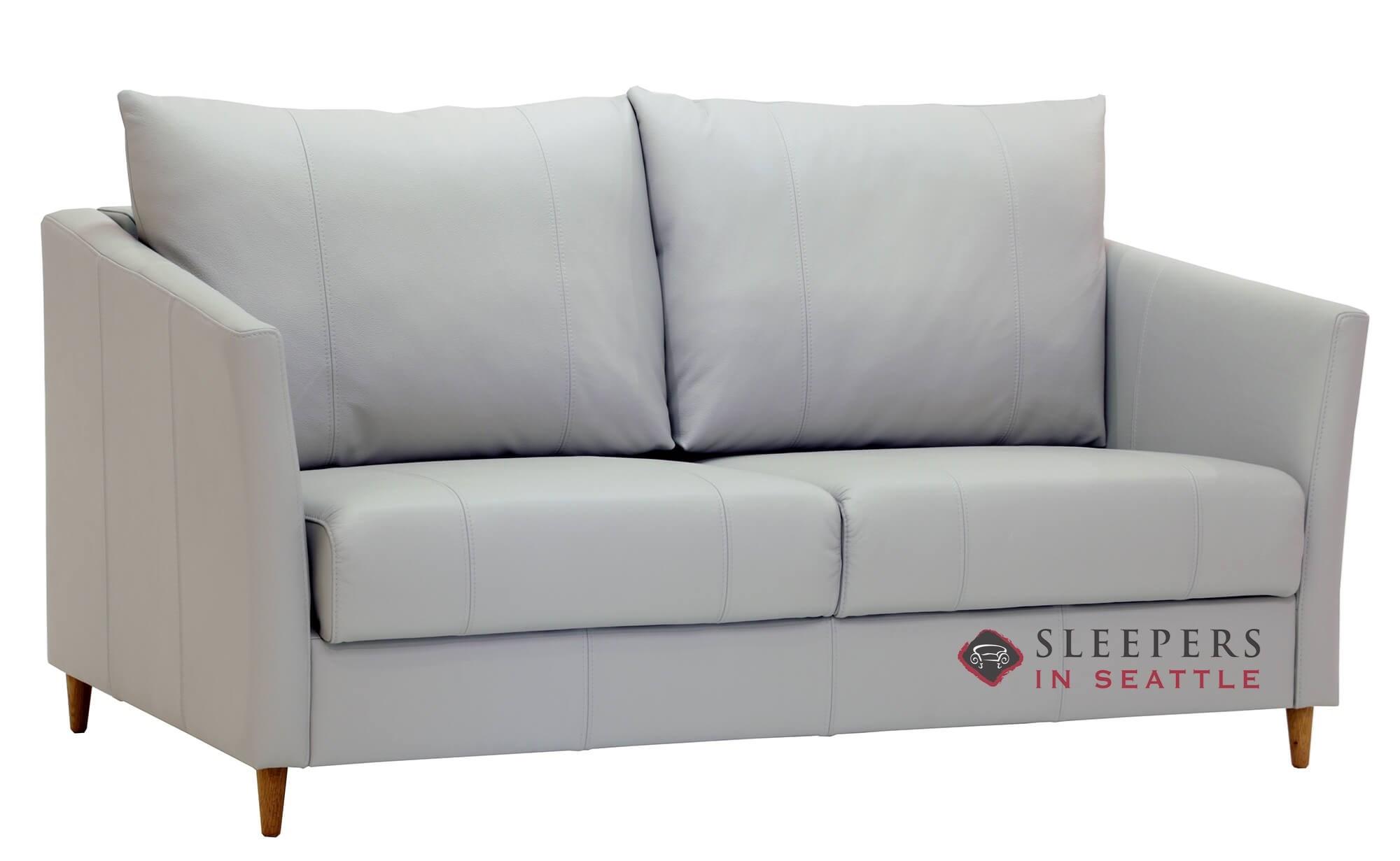 Marvelous Luonto Erika Queen Leather Sleeper Sofa Theyellowbook Wood Chair Design Ideas Theyellowbookinfo