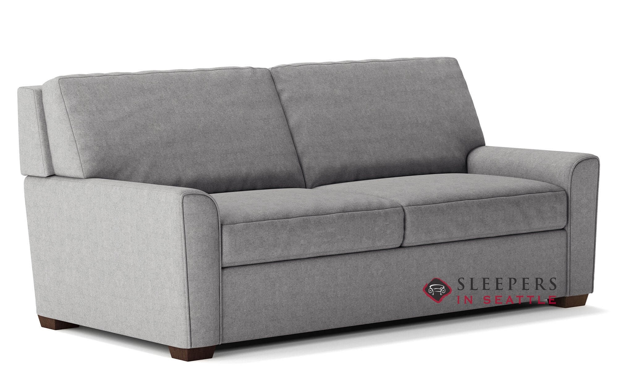 Quick-Ship Klein Queen Fabric Sofa by American Leather | Fast Shipping  Klein Queen Sofa Bed | SleepersInSeattle.com