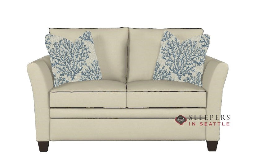 Quick Ship Murano Twin Fabric Sofa By Savvy Fast Shipping Bed Sleepersinseattle