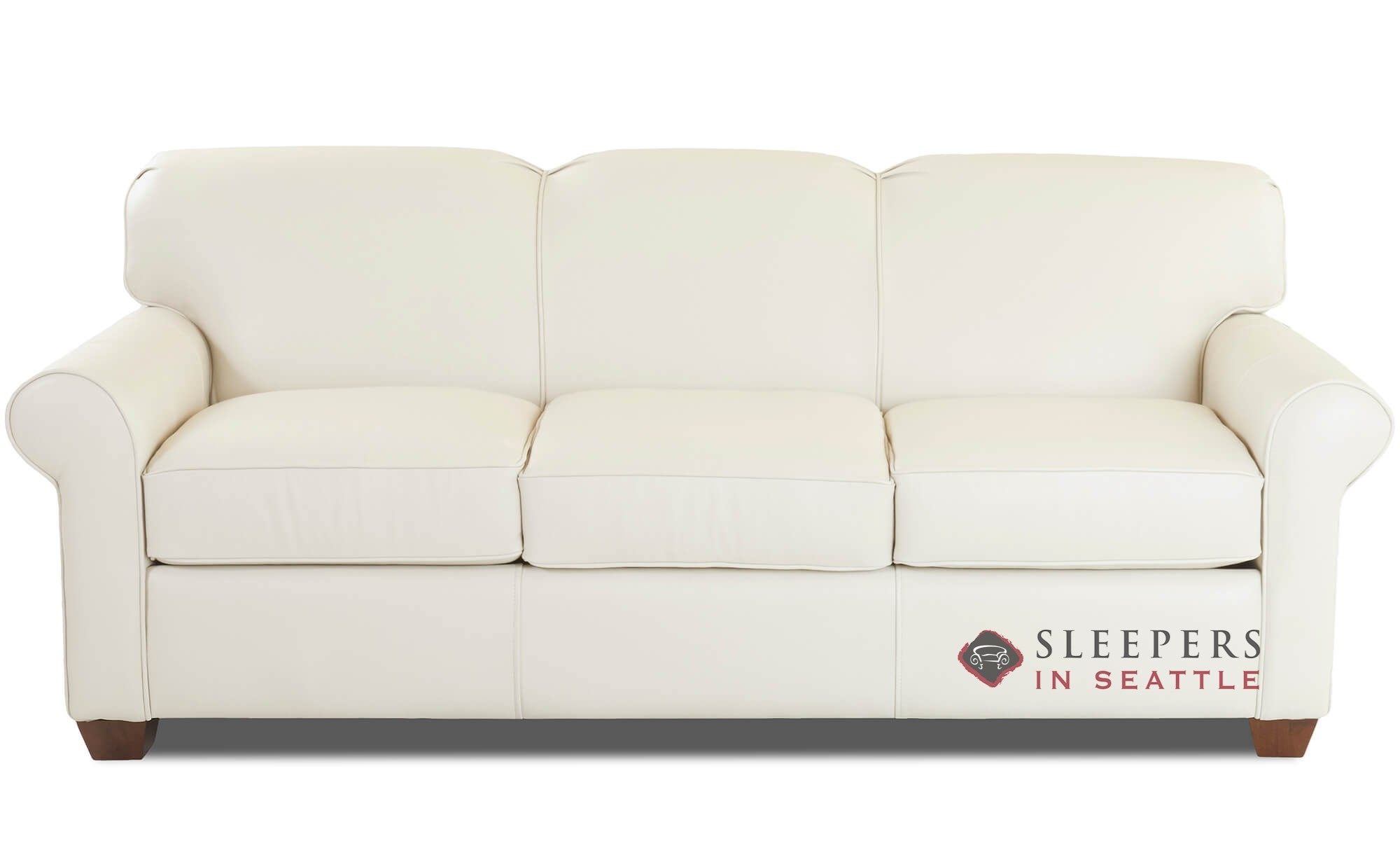 Wondrous Savvy Calgary Leather Queen Sleeper Sofa Ncnpc Chair Design For Home Ncnpcorg