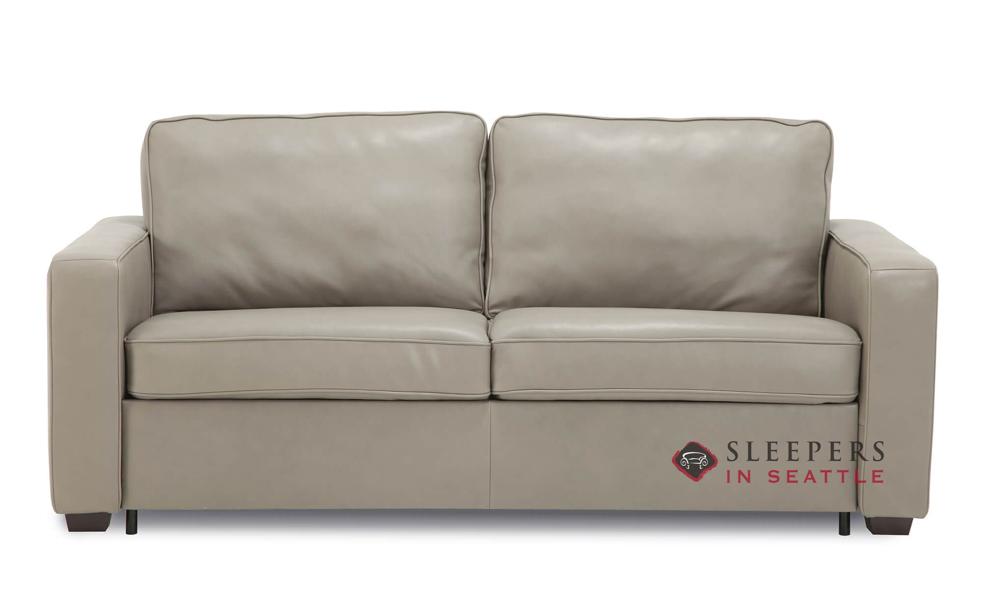 Palliser Anya CloudZ Top-Grain Leather Full Sleeper Sofa